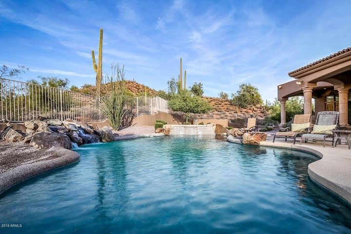 Views from each of 3 Master suite patios & Heated pool