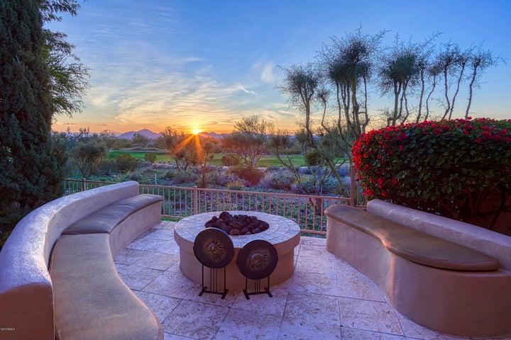 Enjoy stunning views from patio