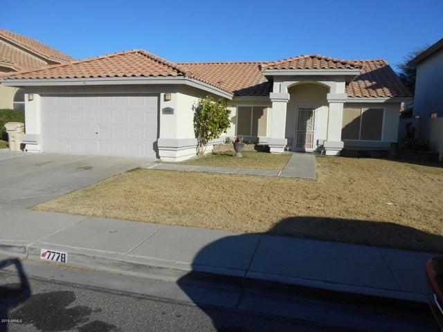 7778 W SIERRA VISTA Drive, Glendale, AZ 85303