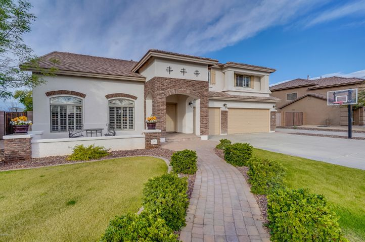 Beautiful Pleasant Valley home nestled in this is wonderful gated community w/ no back neighbors, offering mountain views & privacy!