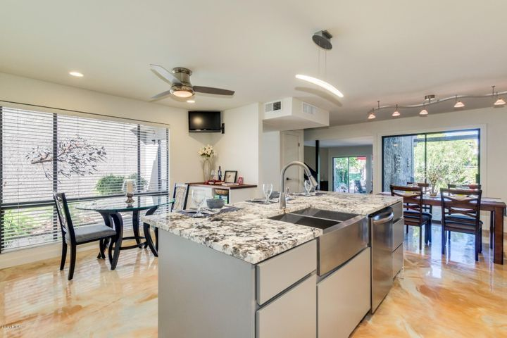 Fabulous kitchen features new appliances, new cabinetry, new sink and countertops, new lighting, new flooring and more!
