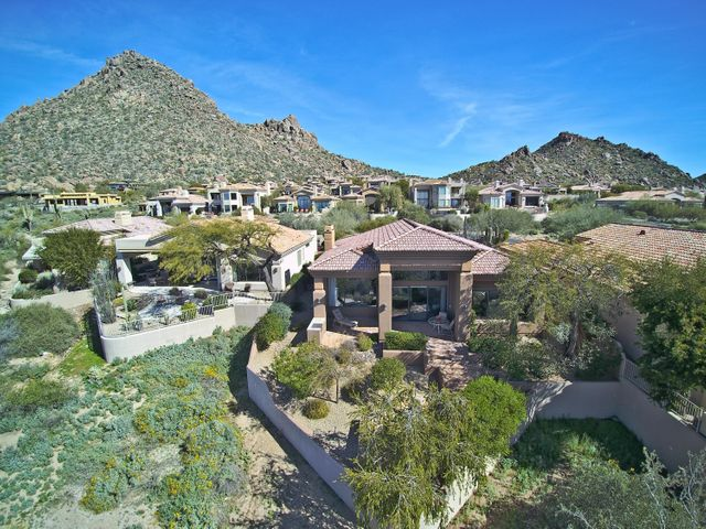 You cant beat this private setting in scenic North Scottsdale on the hillside