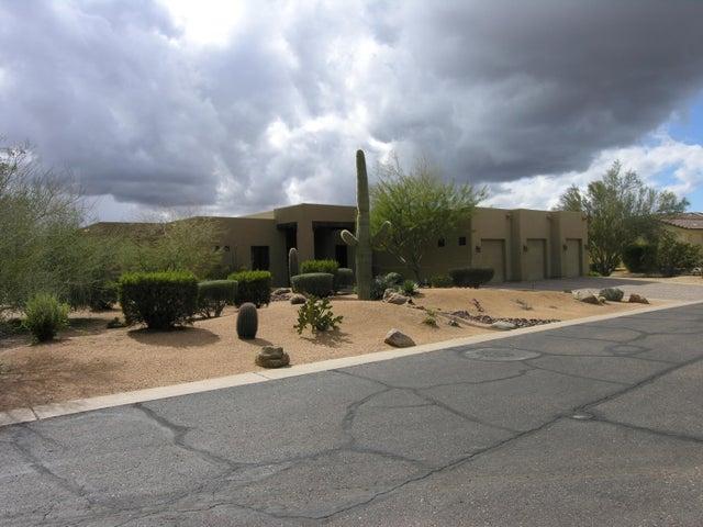 Front of 5459 E. Desert Forest Trail