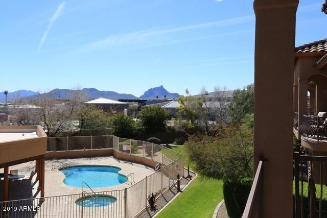 Great view of Red Rock from your balcony!