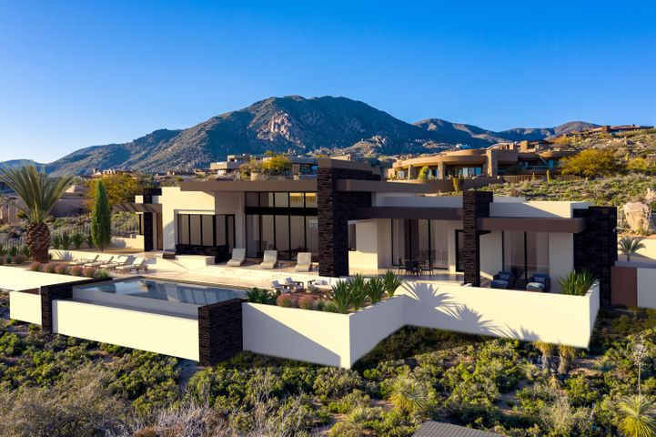 Captivating new single-level custom contemporary