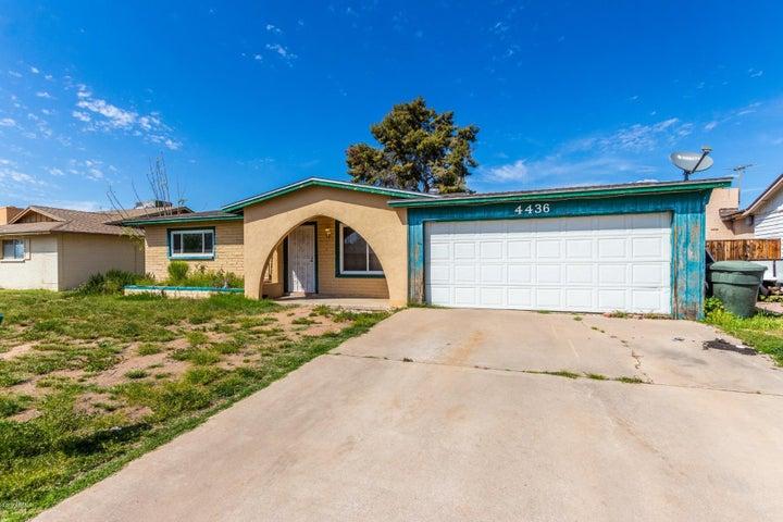 4436 W SIERRA Street, Glendale, AZ 85304