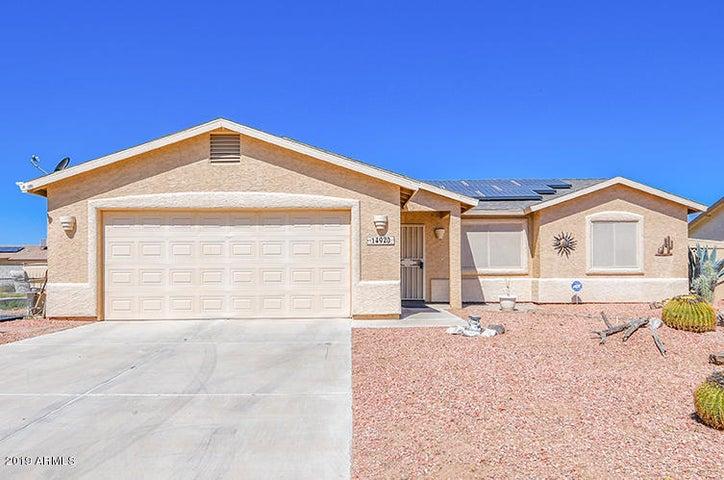 14920 S CAPISTRANO Road, Arizona City, AZ 85123