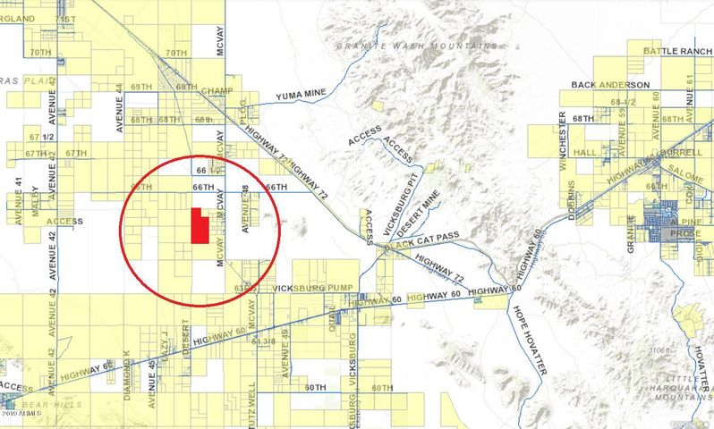 Map Of Young Arizona.40125 S Avenue 46 Road 0 Salome Az 85348 Mls 5905873 Young