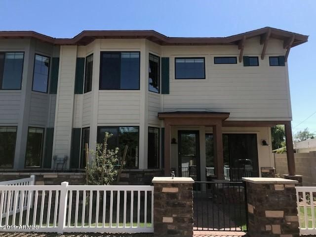 Bay windows, white picket fence, walking distance to ASU. Brand New Construction.