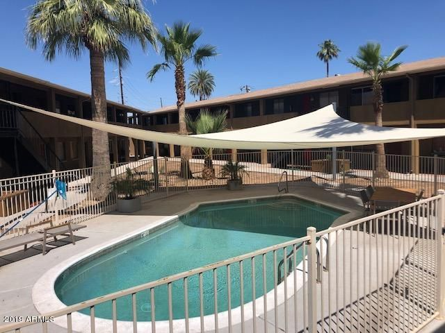 INVITING POOL IN COMPLEX