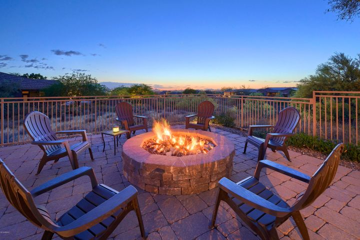 Relax by the fire and take in the panoramic views!
