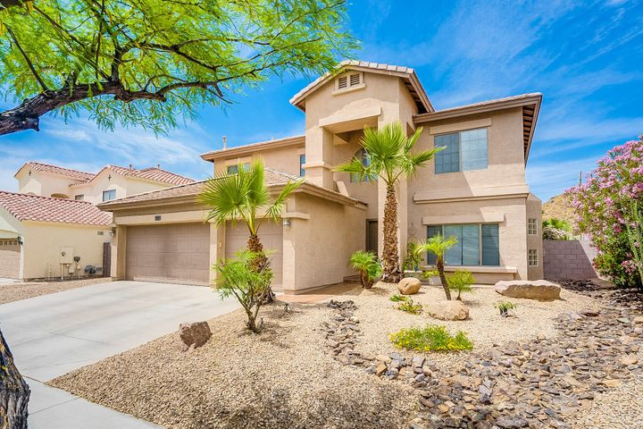 The home has incredible curb appeal and a three car garage! It will welcome you home everyday!