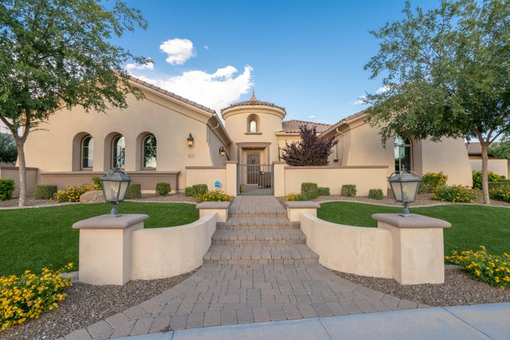 Welcome home to luxury. 5 bedrooms, 4.5 baths and plenty of space to entertain both inside and outside