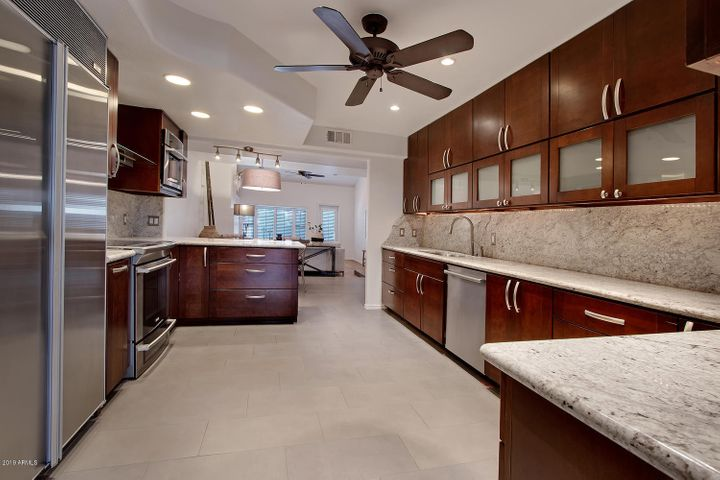 Spectacular Gourmet Kitchen with the finest cabinets, counters and appliances