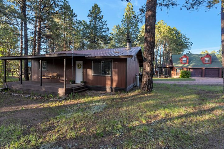 Front of Home - Remodeled Cabin