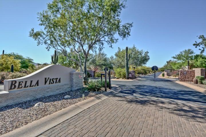 Pinnacle Peak Road and 77th Way Bella Vista gated community