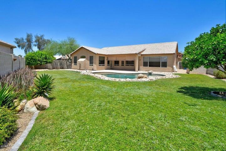 RARE lush resort backyard on over 10K square foot corner cul-de-sac lot