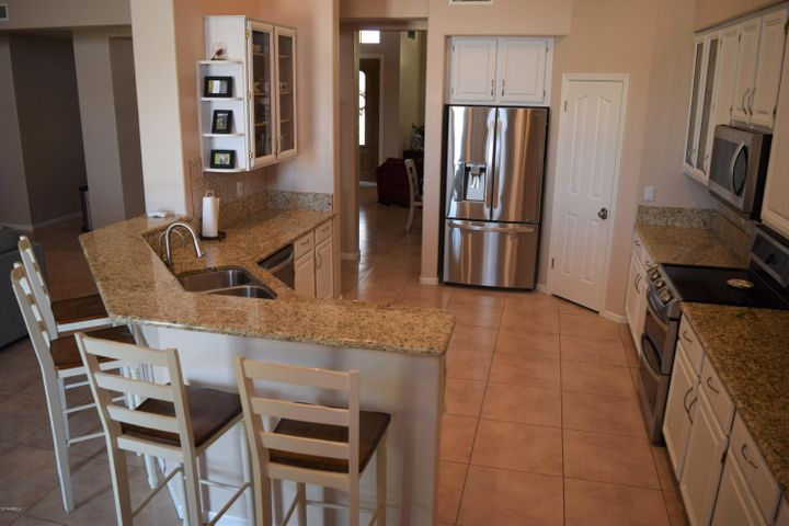 Large kitchen with great counter space