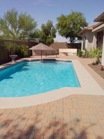Great size pool for swimming laps. Large ledge for chairs & umbrella!