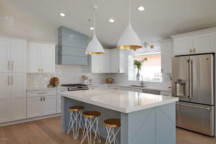 Gorgeous custom kitchen
