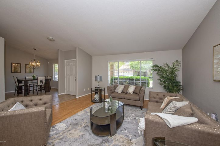 Open and Spacious. Interior freshly painted in relaxing colors.