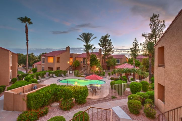 Perfectly located within the interior of the Rancho Antigua Neighborhood! This is the view from the unit...