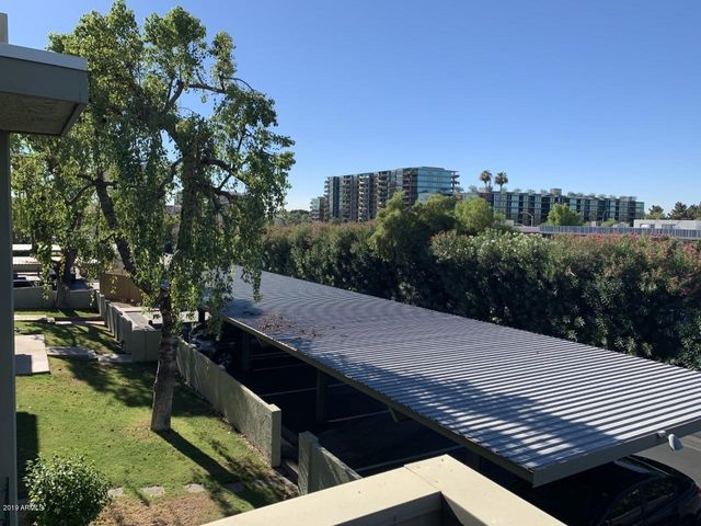 View of Downtown Scottsdale from balcony