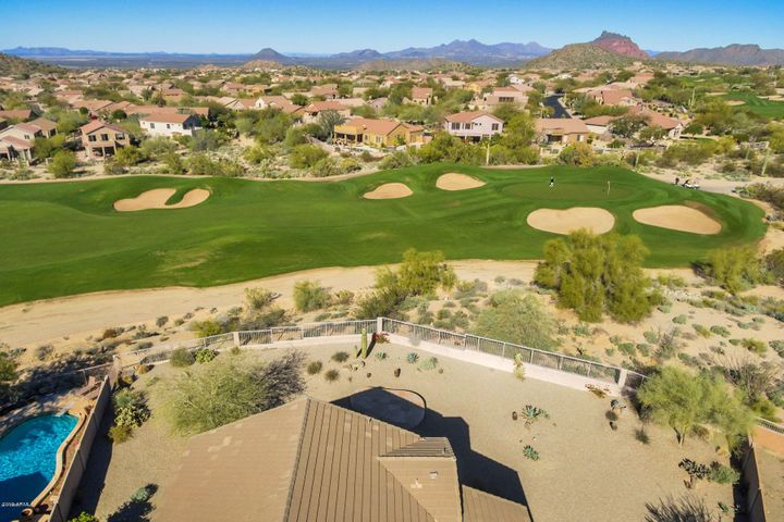 Views of the Golf Course & Red Mountain from the Balcony