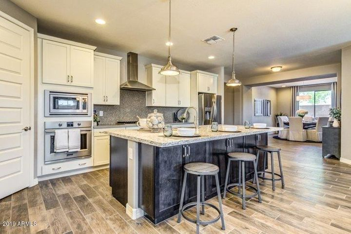 Photo of the model home - same plan.