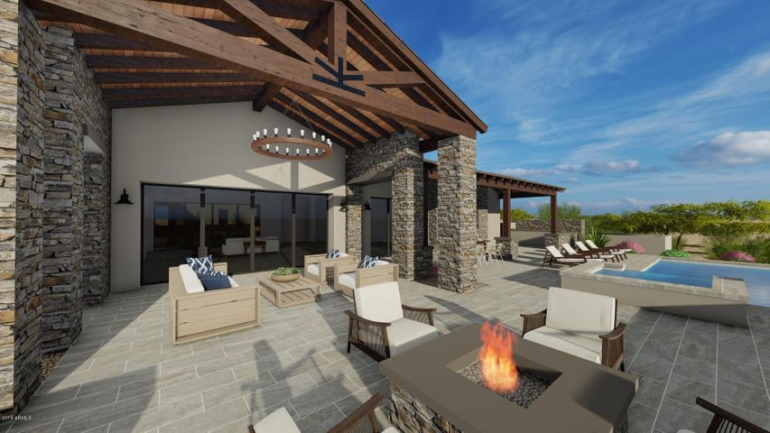 Rustic Mountain Contemporary *Artistic Rendering