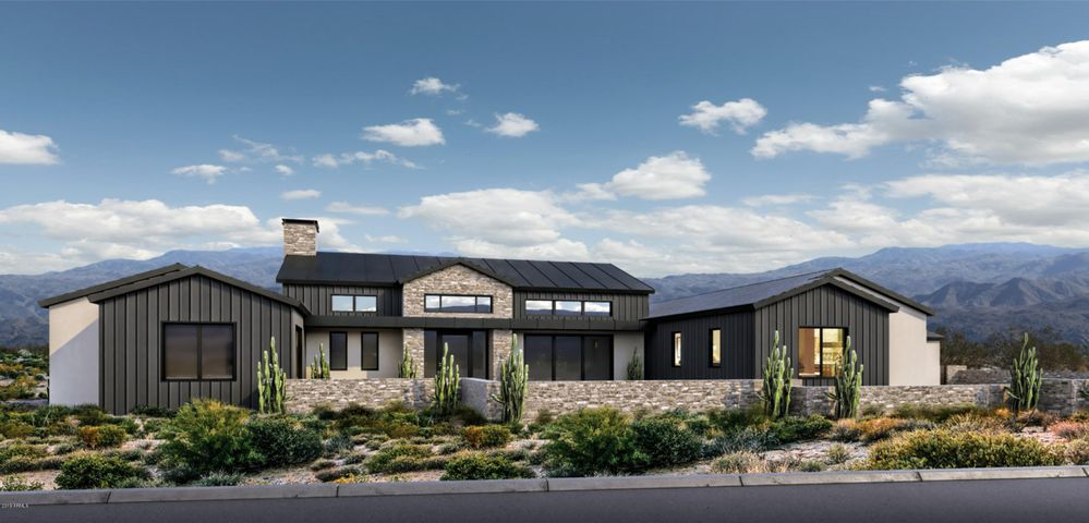 Napa Valley Modern Farmhouse Artistic Rendering