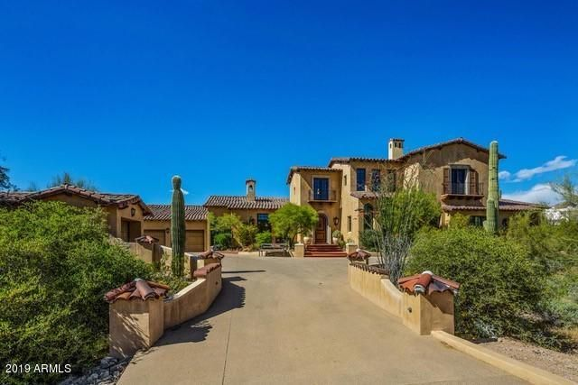 """Custom estate with """"Green Building"""" Certificate offers luxury living in the coveted DC Ranch Country Club."""