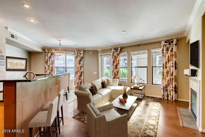 Enjoy this large one bedroom luxury condo with a fantastic location!!