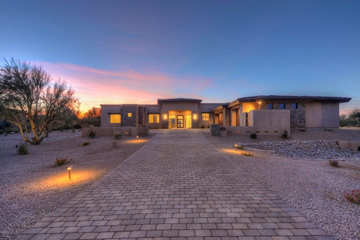 Architecturally authentic exterior design with Contemporary and Modern features.
