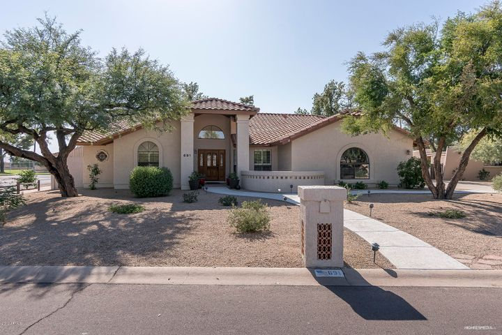 "691 E. Fairway Dr. ""in the Park"" at Litchfield Park. 2343 sq.ft. living area; 16,212 lot size. 3 bedrooms; 2.5 baths; single level.Beautifully upgraded, new HVAC system; new appliances, new carpeting under warranty. Near famous WigWam Resort, top rated schools. golf, tennis, community pool, lake, Turtle Park. A wonderful place to enjoy living."