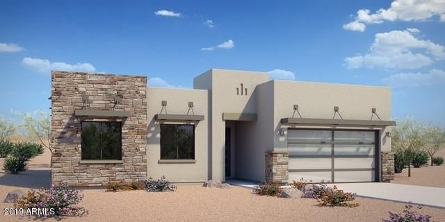 The home being built will have all stucco (no stone)