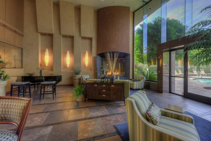 Entertain in the luxurious club house with espresso bar, grand piano and direct access to the pool and spa