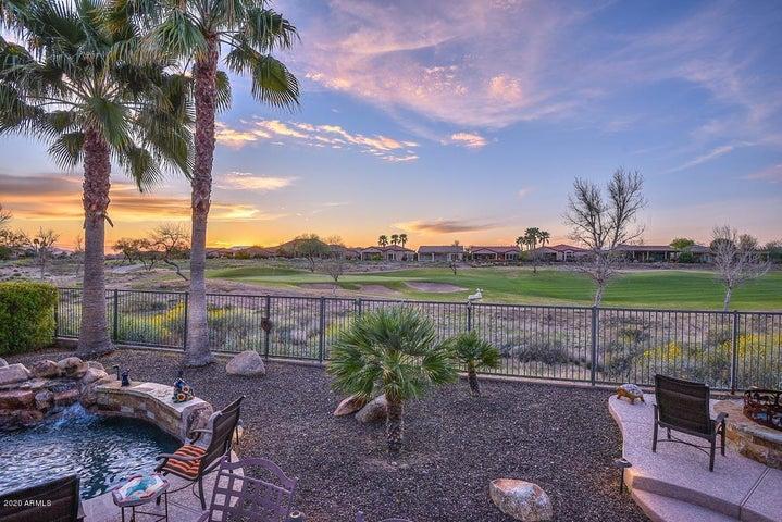 Incredible Golf Green, Mountain, & Sunset Views
