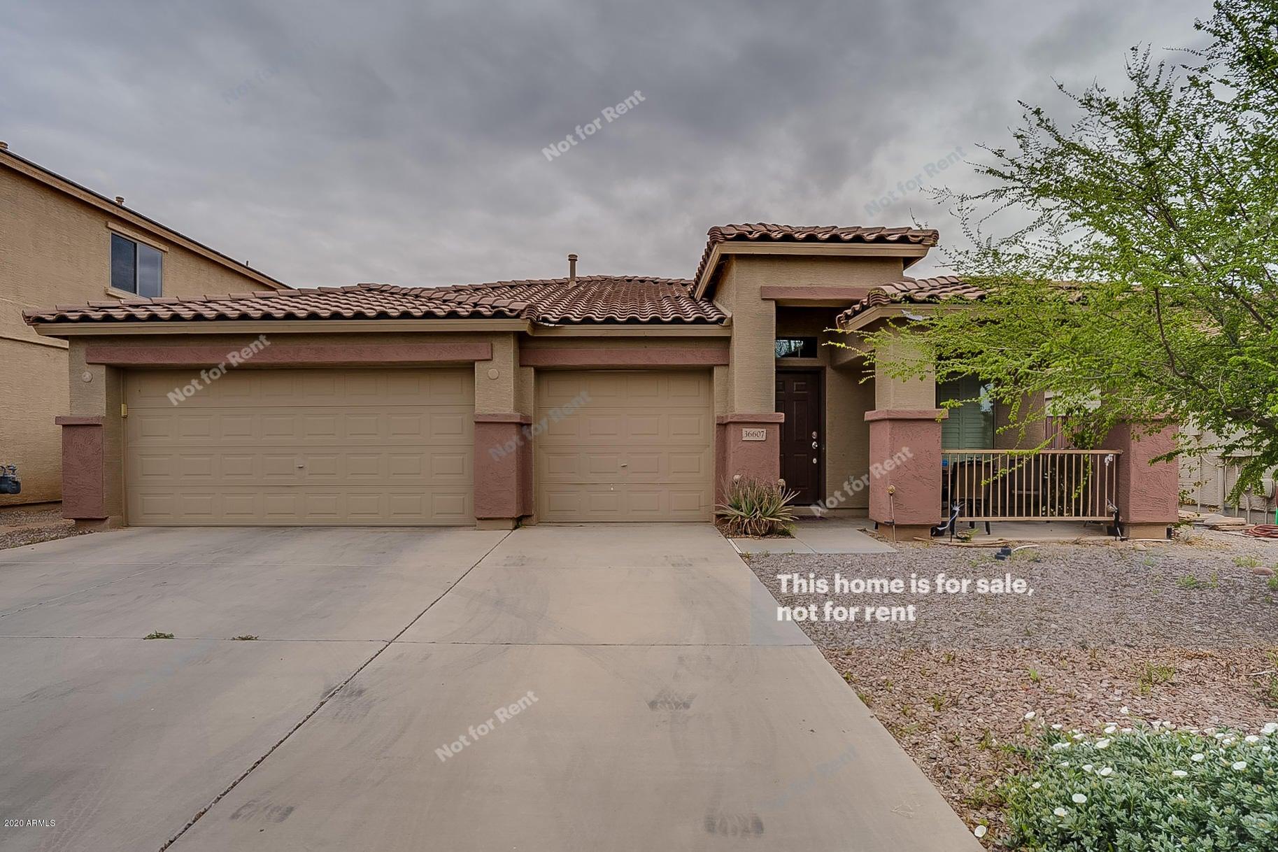 36607 W COSTA BLANCA Drive, Maricopa, AZ 85138