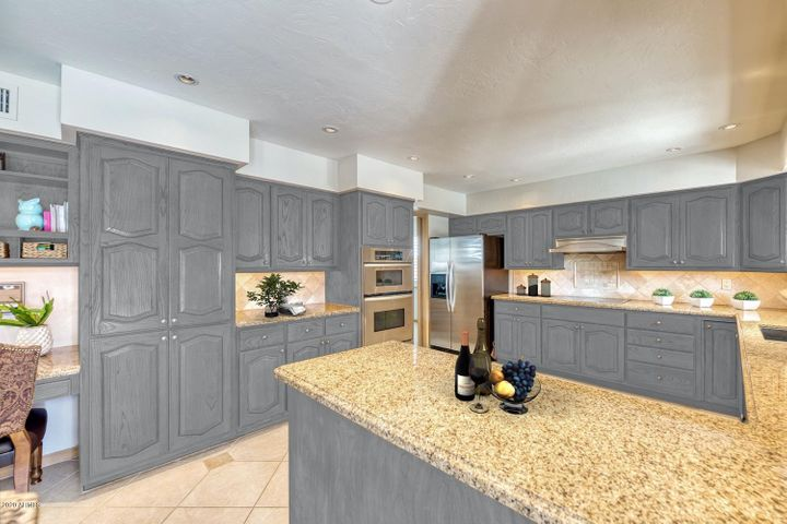 Virtually Painted Cabinets