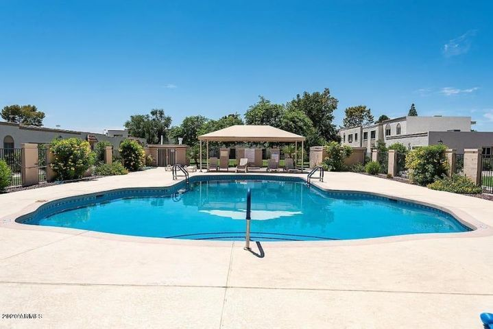 Heated Community Pool nearby! You can view Pool from your Master Suite!