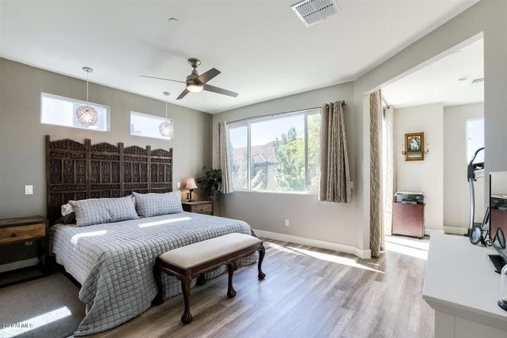 Enjoy your Spacious Master Retreat complete with sitting room and large Patio