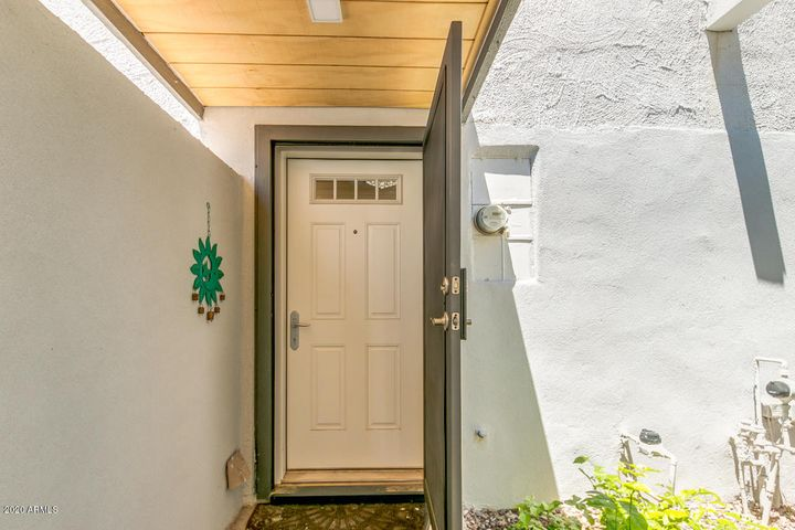 Brand new front door and security door