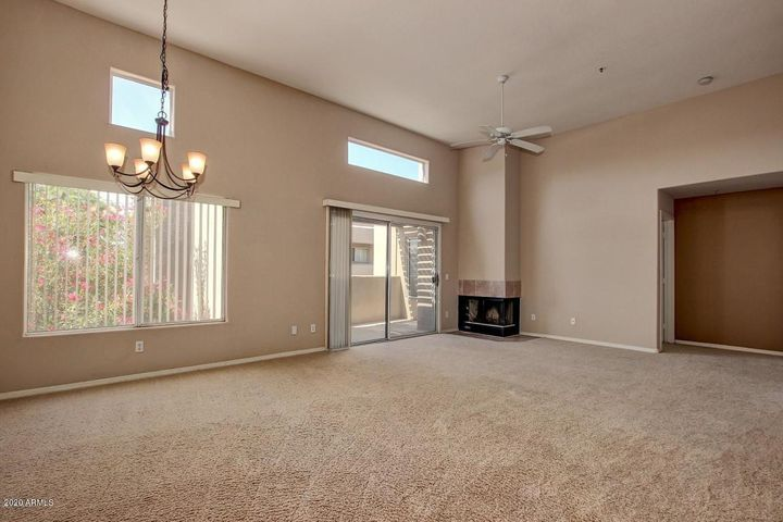 Open Dining and Living space