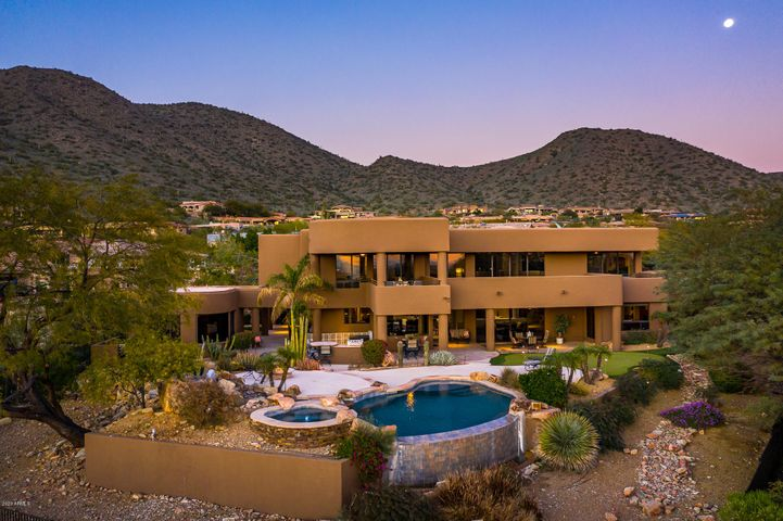 Beautiful golf course estate at the base of the McDowell Mtns in Ancala Country Club ~ N. Scottsdale, AZ