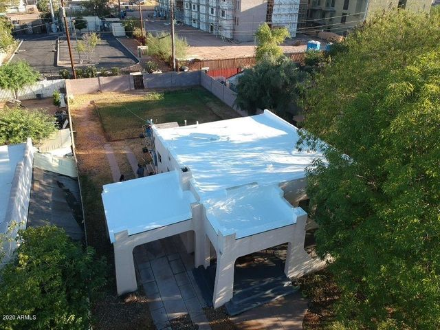 View of New Foam Roof and large lot