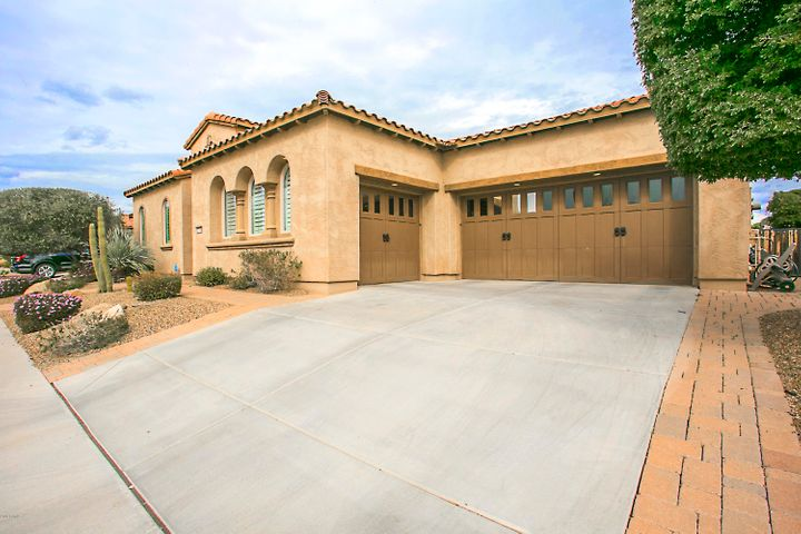 3 car garage with golf cart charging outlets