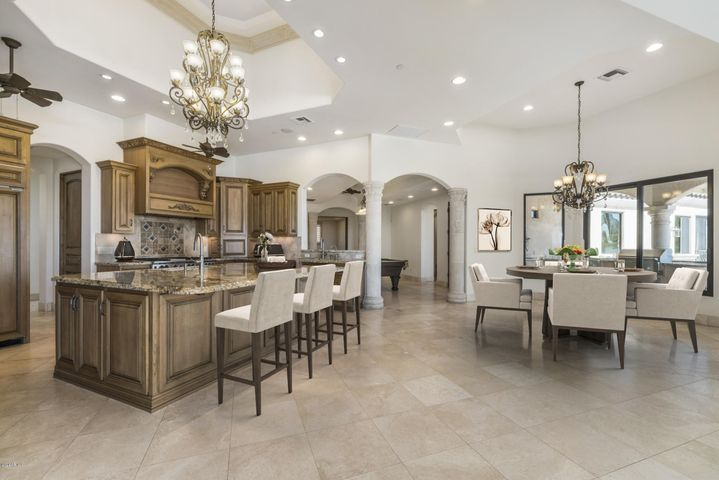 With custom cabinetry & Sub-Zero/Wolf high end appl. pkg.
