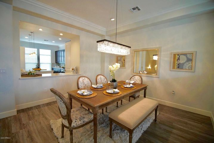 Formal Dining Room next to Kitchen