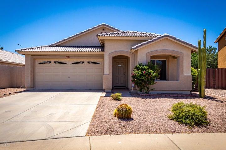 Newer exterior paint and low maintenance landscape.